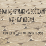 TMS Money Making Bootcamp – Clear out the clutter and claw in the cash!