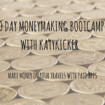 TMS Money Making Bootcamp – Make money on your travels with paid apps