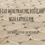 TMS Money Making Bootcamp – Save money on your car insurance