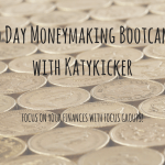 TMS Money Making Bootcamp – Focus on your finances with focus groups!