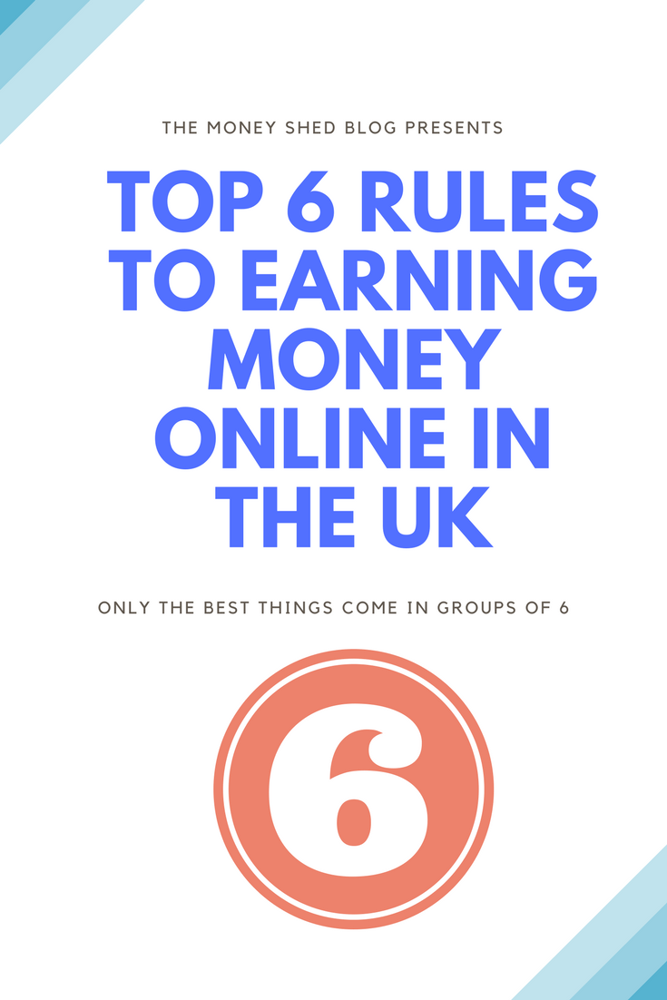 TMS Pinterest : Top 6 rules to earn money in the UK