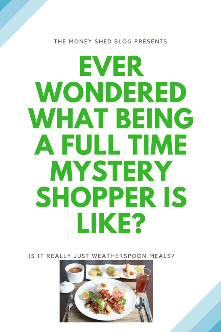TMS Pinterest Full time Mystery Shopper