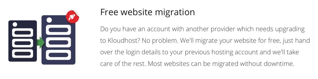 kloudhost migration