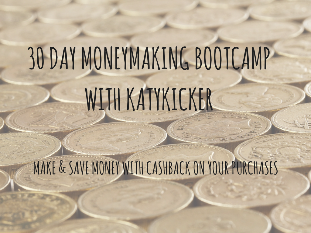 TMS Money Making Bootcamp - Make and save money with cashback on your purchases