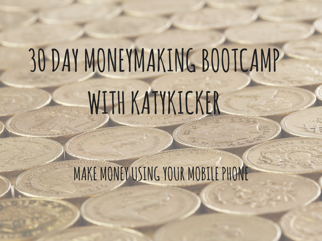 TMS Money Making Bootcamp - Make money using your mobile phone