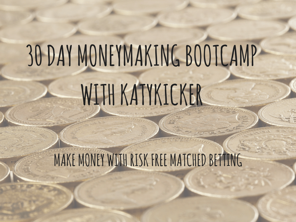 TMS Money Making Bootcamp - Make money with risk free matched betting