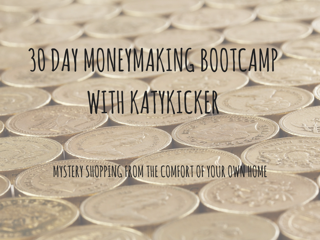 TMS Money Making Bootcamp - Mystery shopping from the comfort of your own home