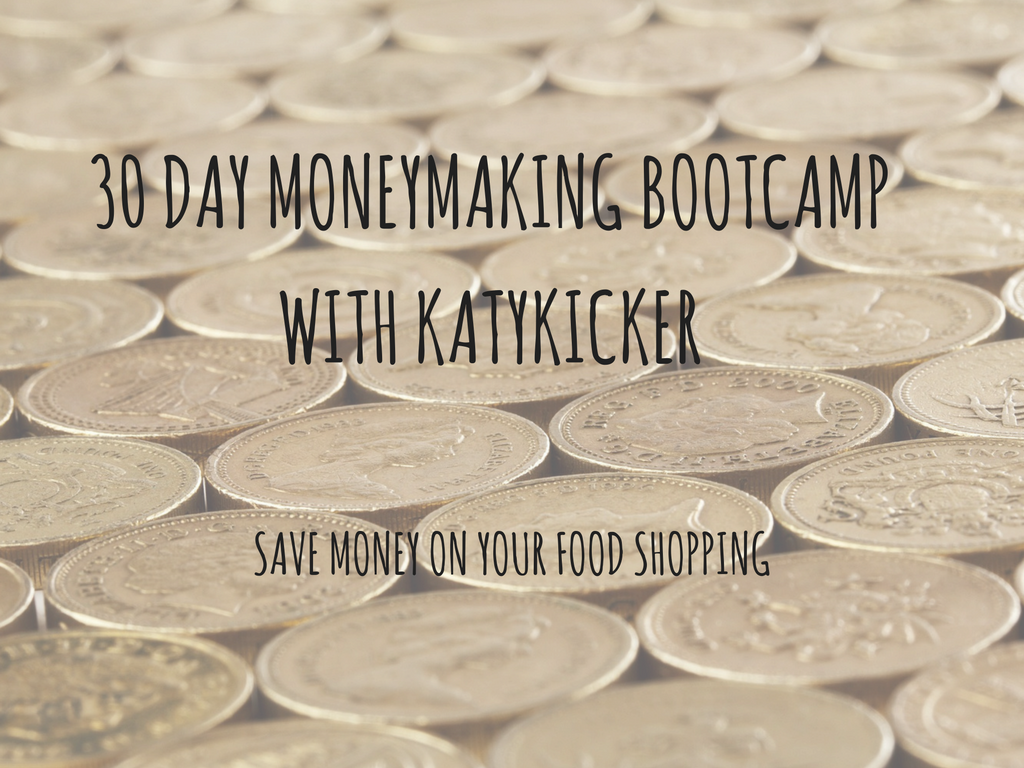 TMS Money Making Bootcamp - Save money on your food shopping