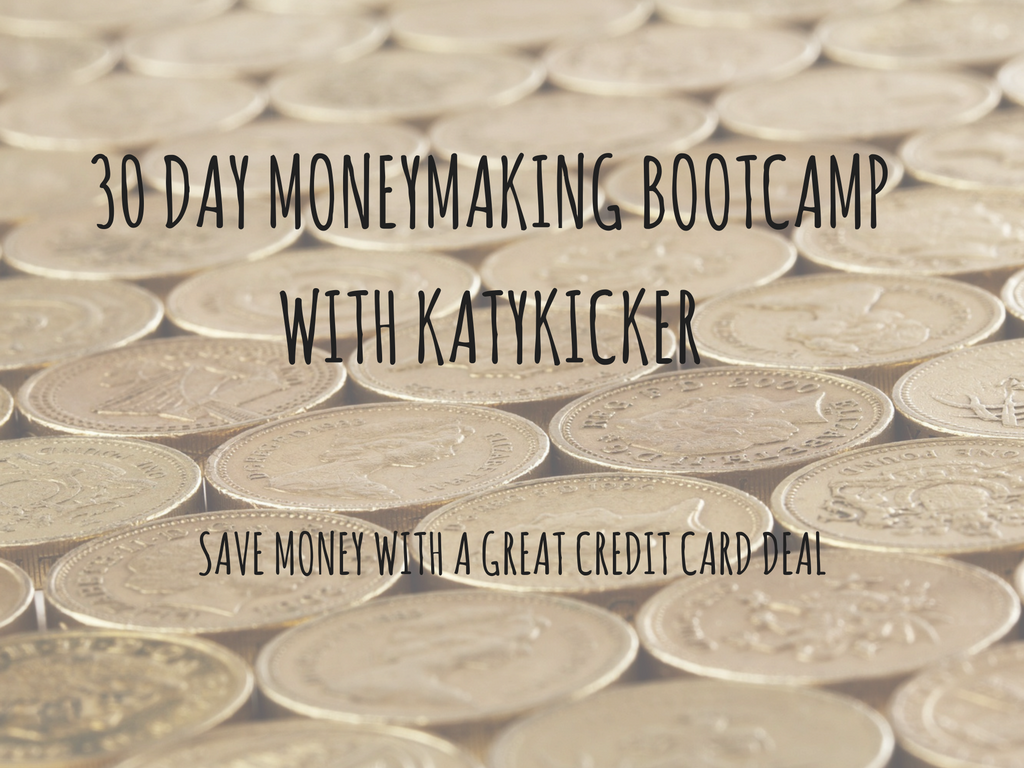 TMS Money Making Bootcamp -  Save money with a great credit card deal 2
