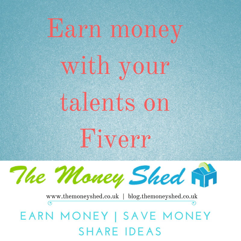 Earn money with your talents on Fiverr 7