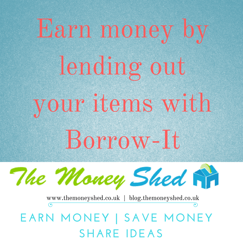Earn money lending out your items with Borrow-It 3