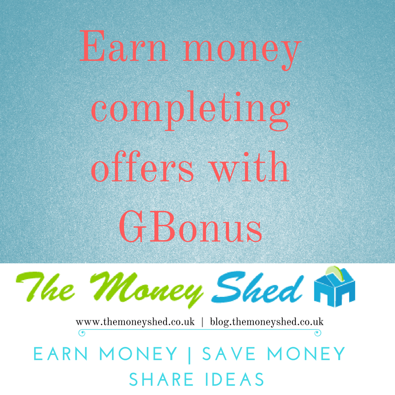 Earn money by completing offers with GBonus (PLUS GET £2.50 FOR FREE) 1
