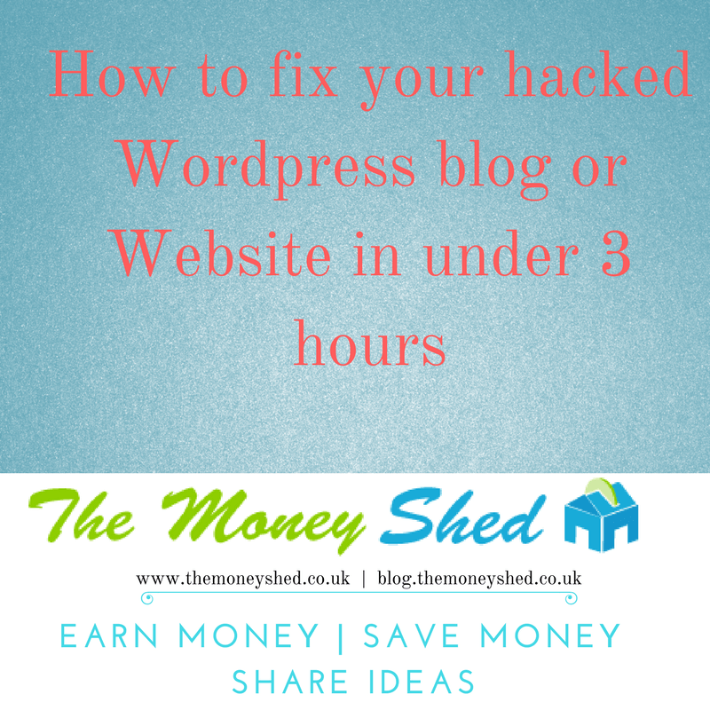 How to fix your hacked Wordpress blog or website in under 3 hours 3