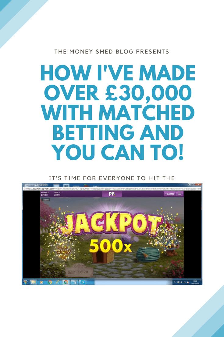 Matched Betting Make £30,000