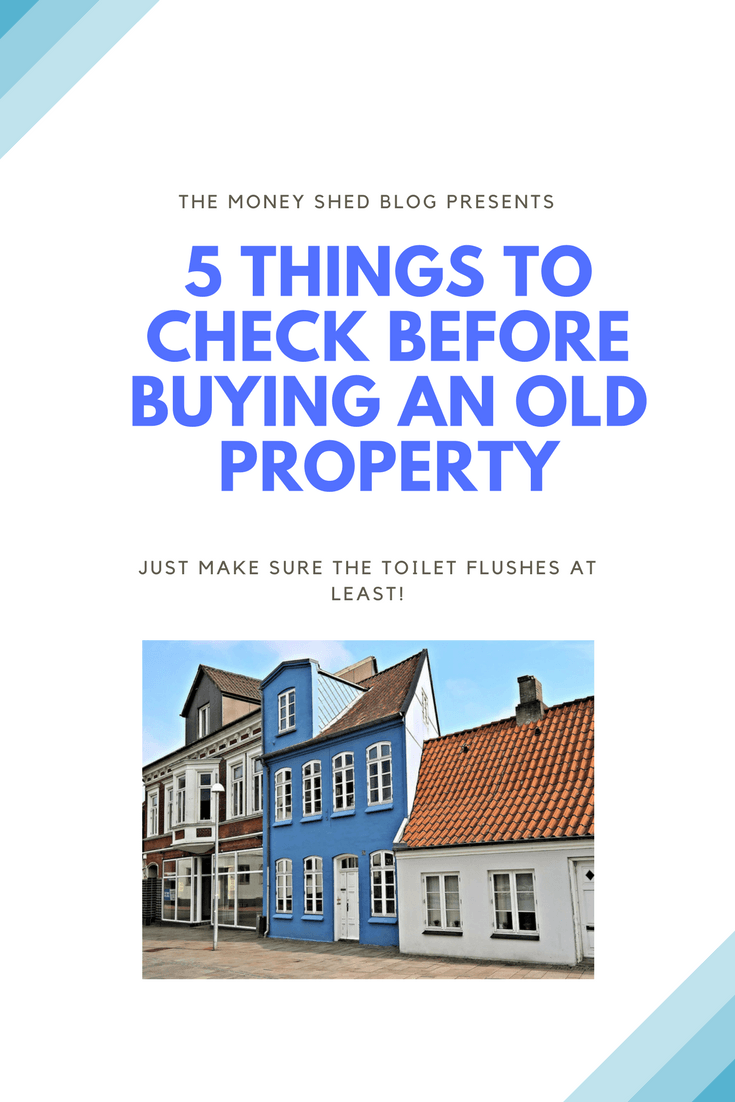 TMS Pinterst - 5 things to check on old property