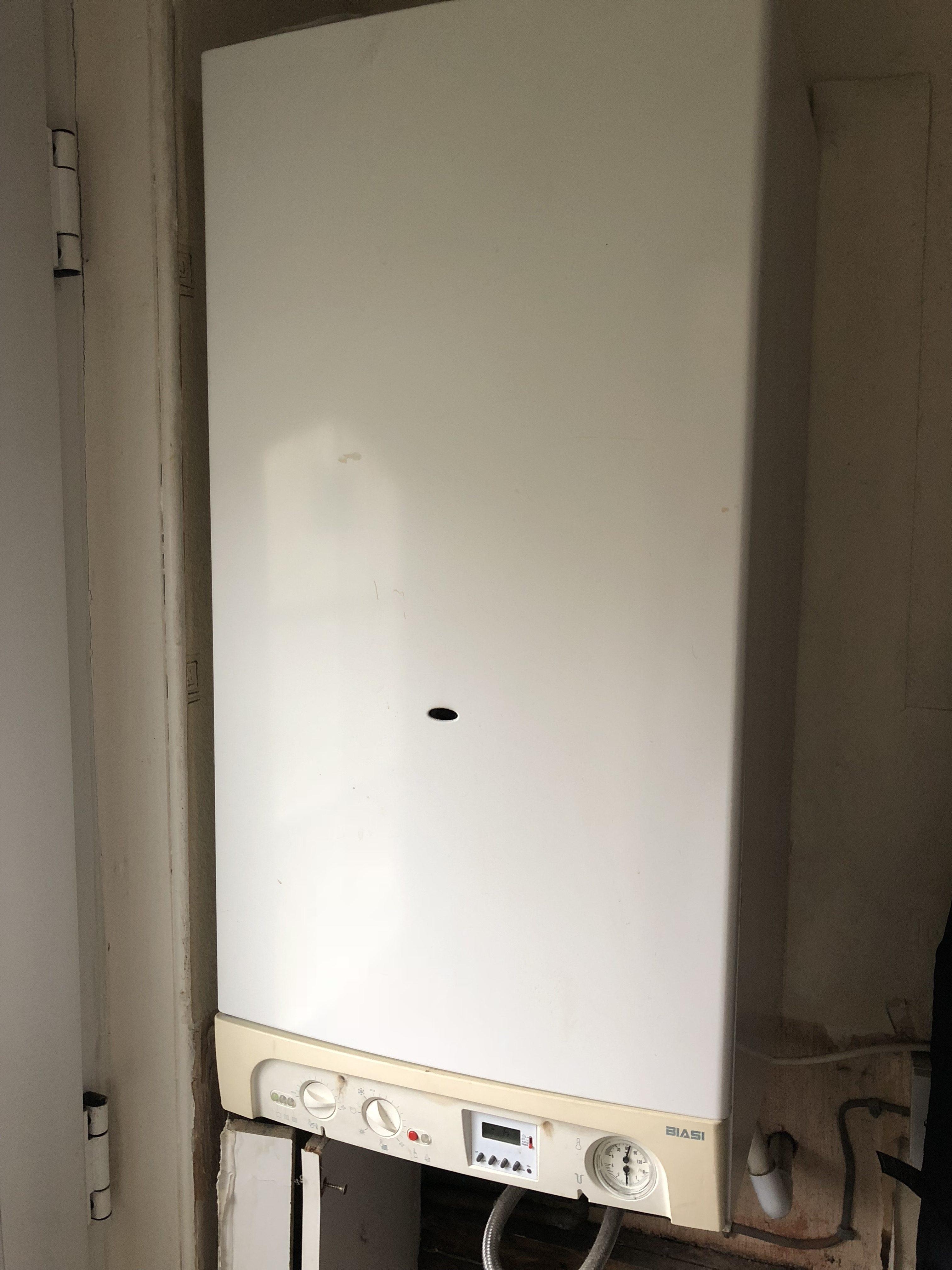 Old combi boiler