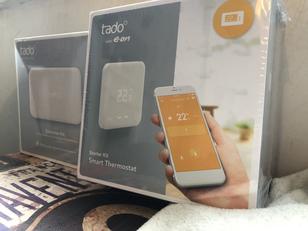 Tado Smart Thermostat install