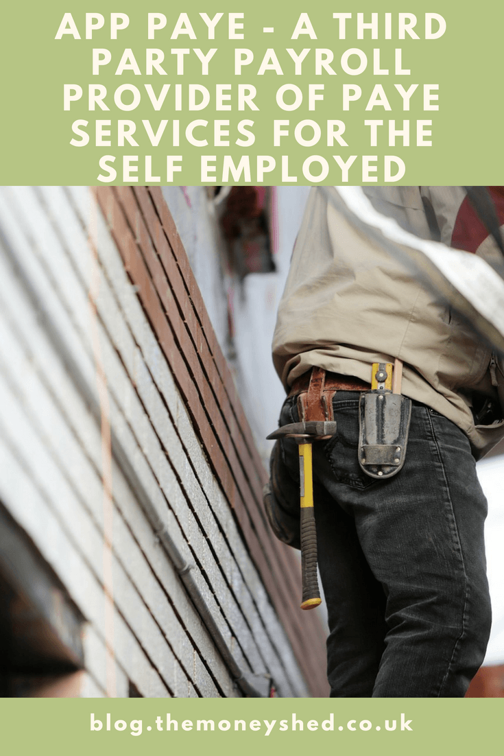 App Paye - A third party payroll provider of PAYE services for the Self Employed