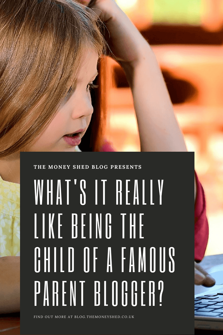 What's it really like being the child of a famous parent blogger?
