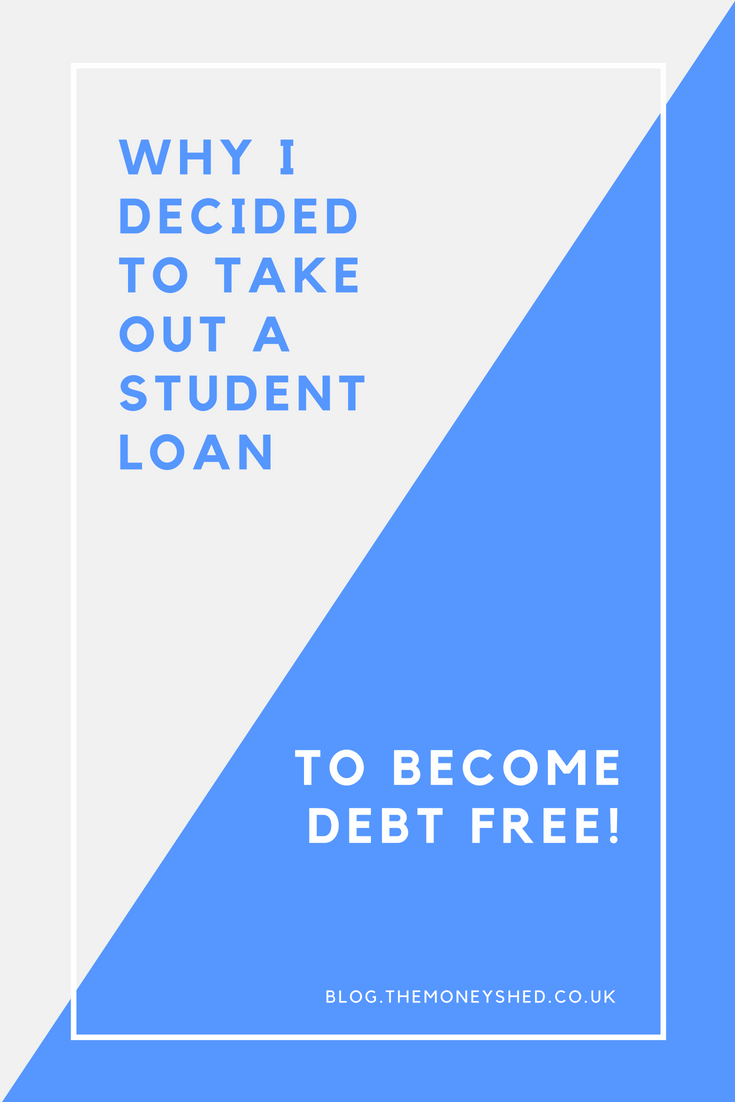 Why I decided to take out student loans to become debt free