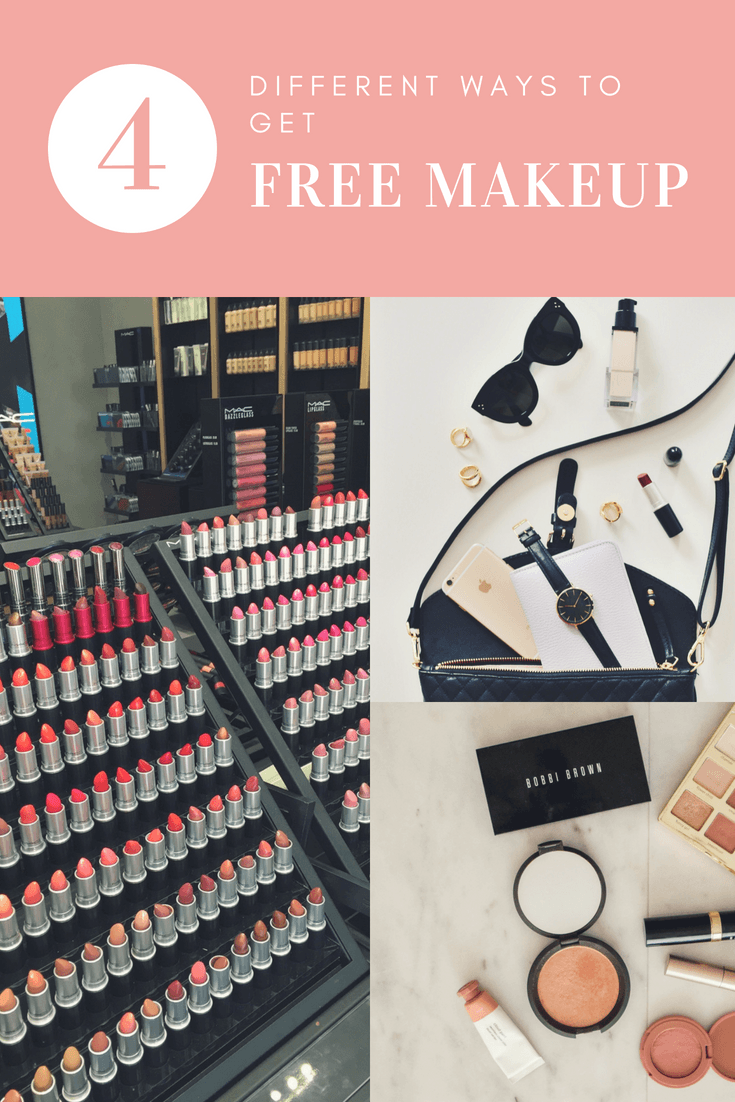 4 different ways to get free makeup