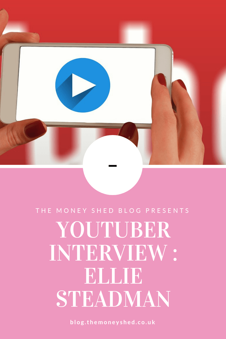 YouTube Interview : Ellie Steadman