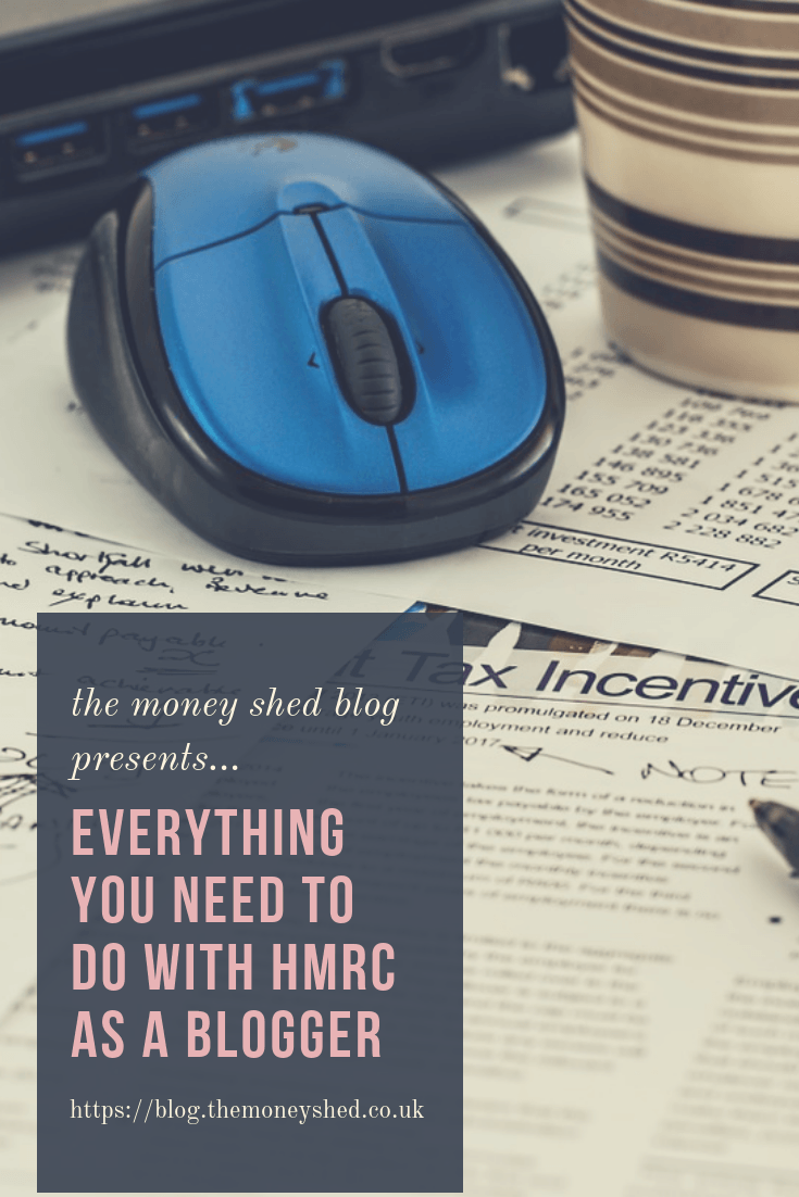 Everything you need to do with HMRC as a Blogger