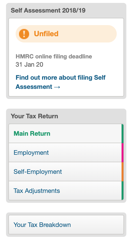 FreeAgent Review Submit Income Tax Self Assessment