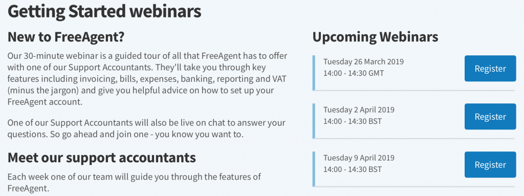 FreeAgent Review Getting Started Webinar