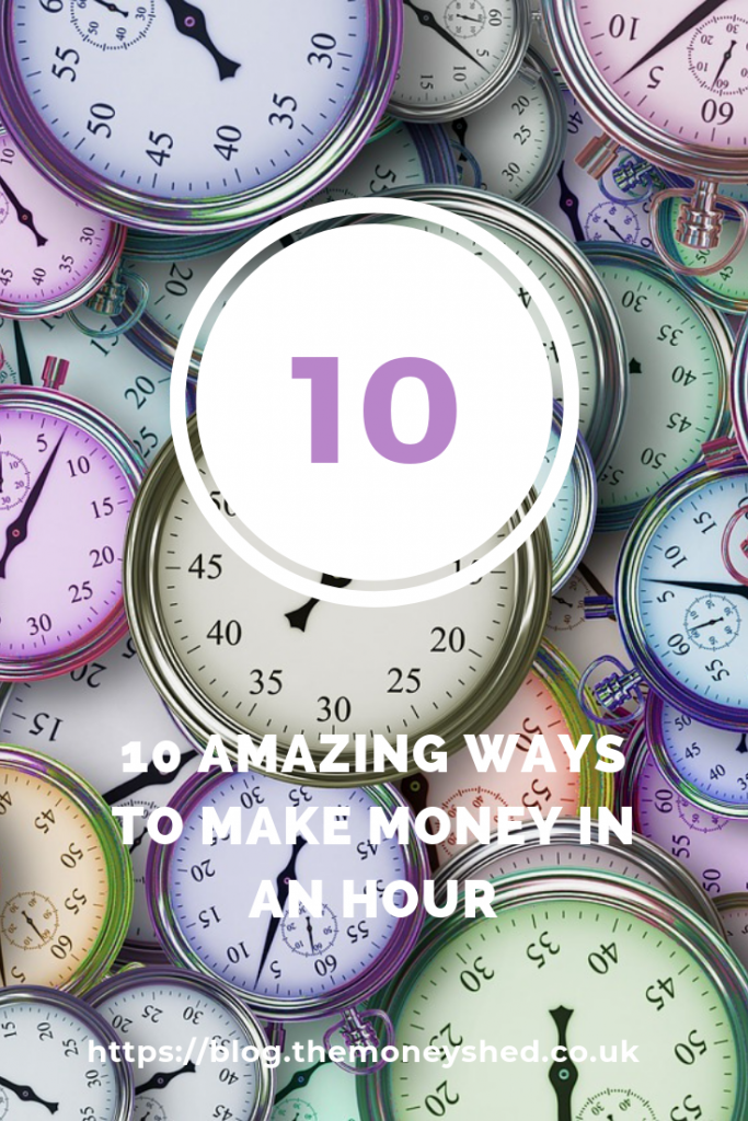 10 amazing ways to make money in an hour pinterest