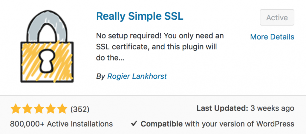 How to install an SSL Certificate on your blog Really simple SSL