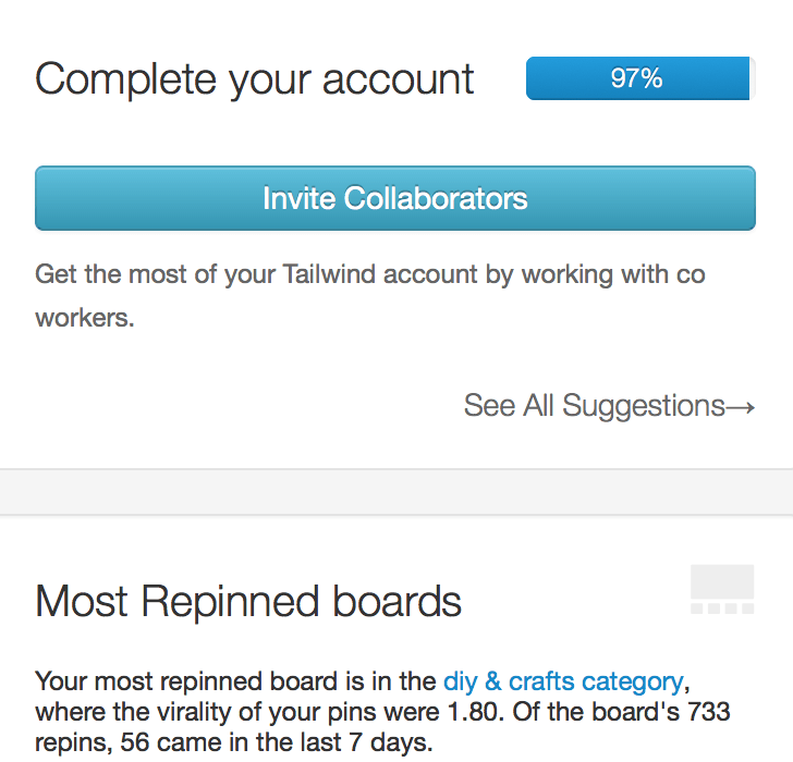 Tailwind create an account