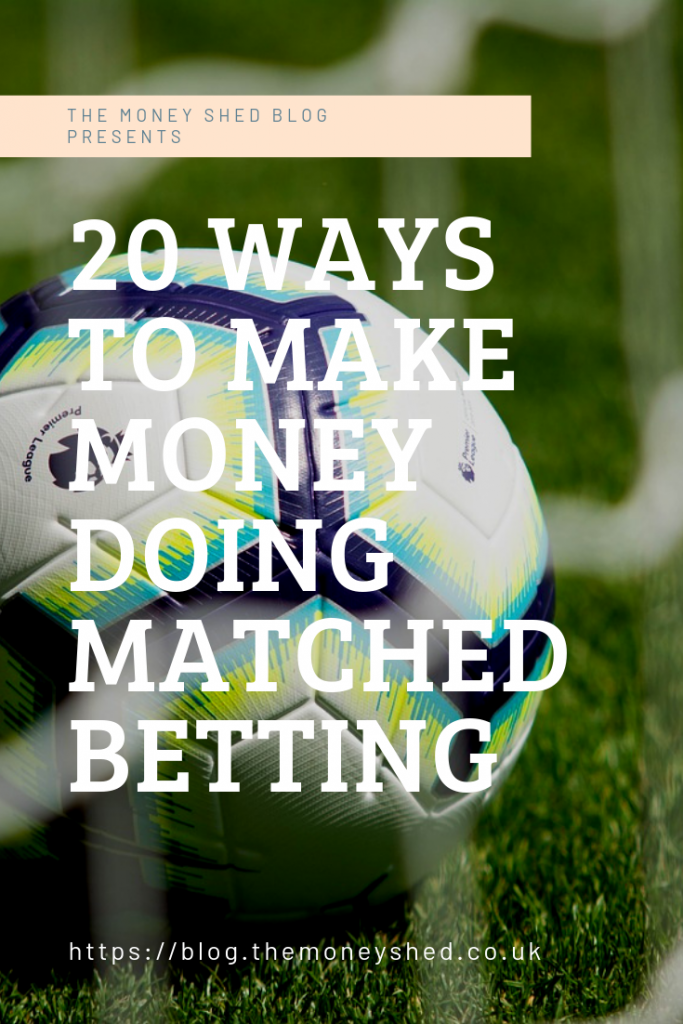 20 ways to make money doing matched betting pinterest