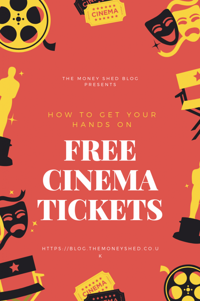 Free Cinema Tickets Pinterest