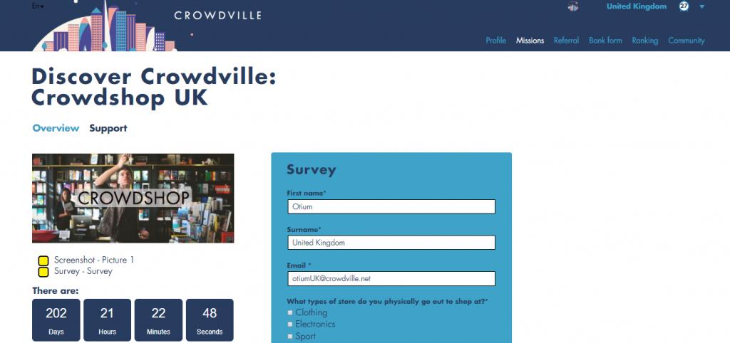 crowdville surveys