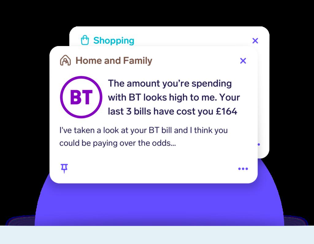 snoop app bill spending