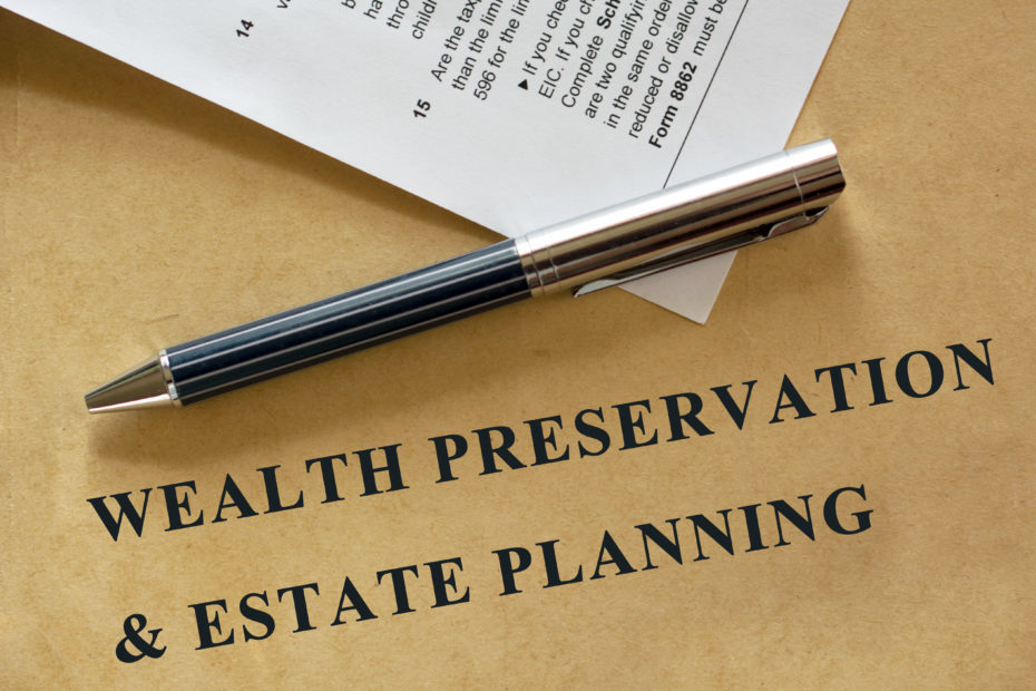 Wealth Preservation & Estate Planning - legal statement.