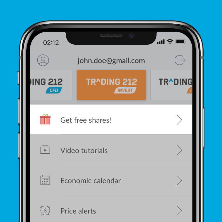Get a Free Share with Trading212