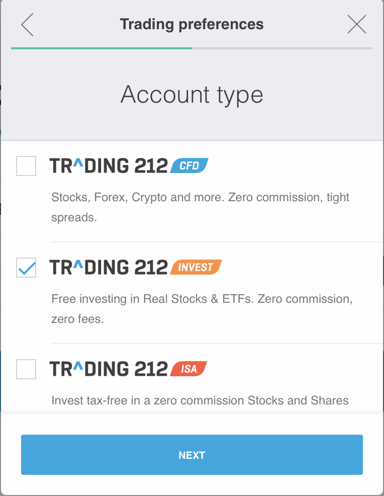 How to open a trading212 account