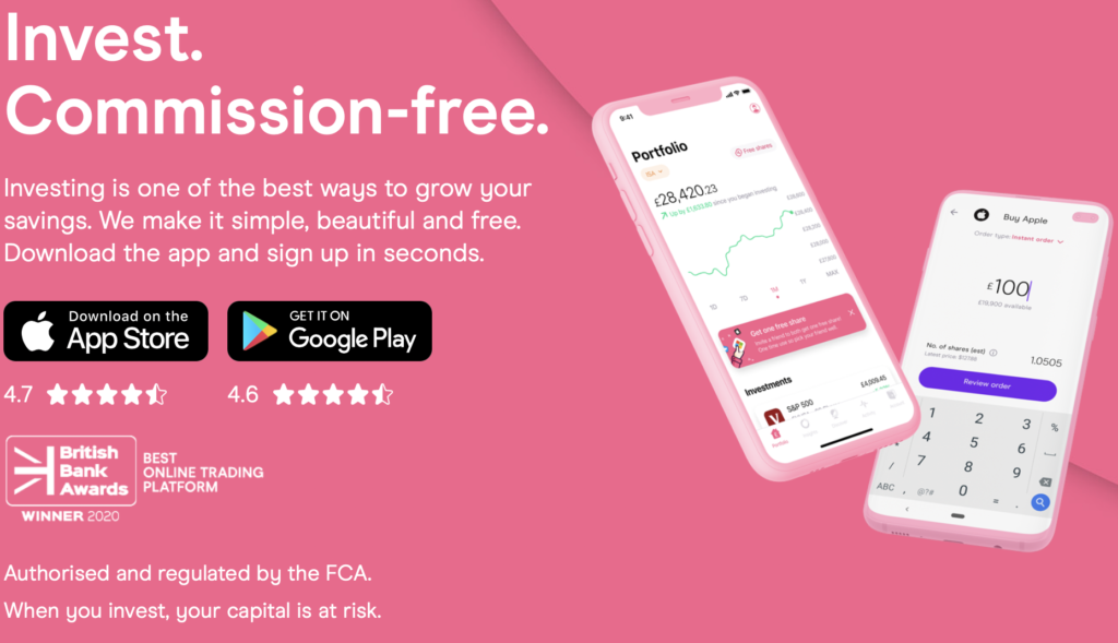 Open a freetrade account