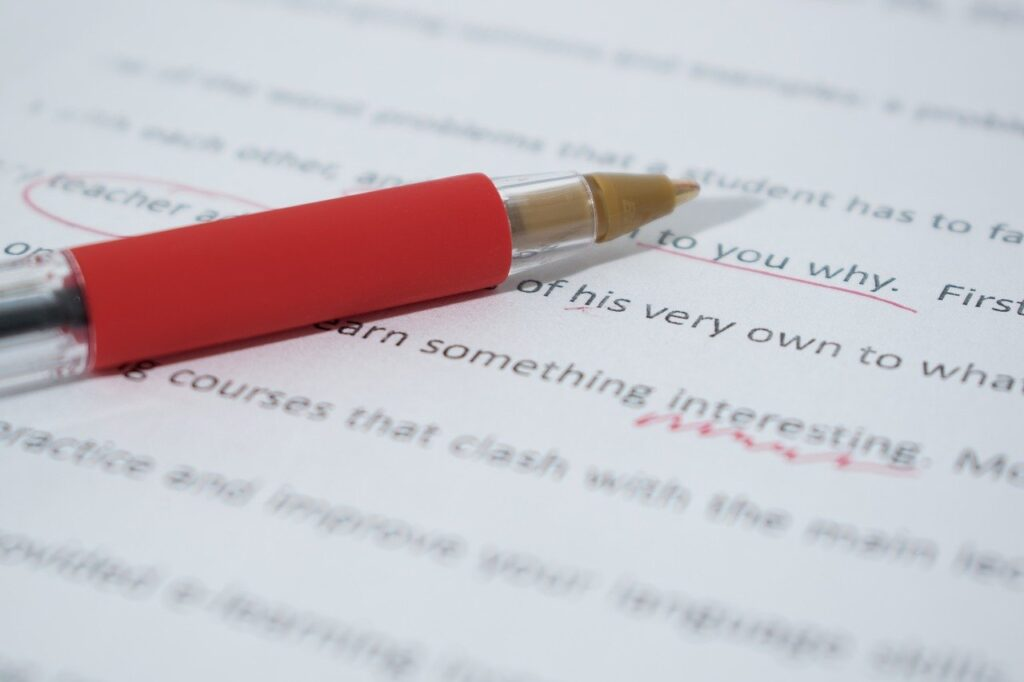 Proofreading as a money-making idea